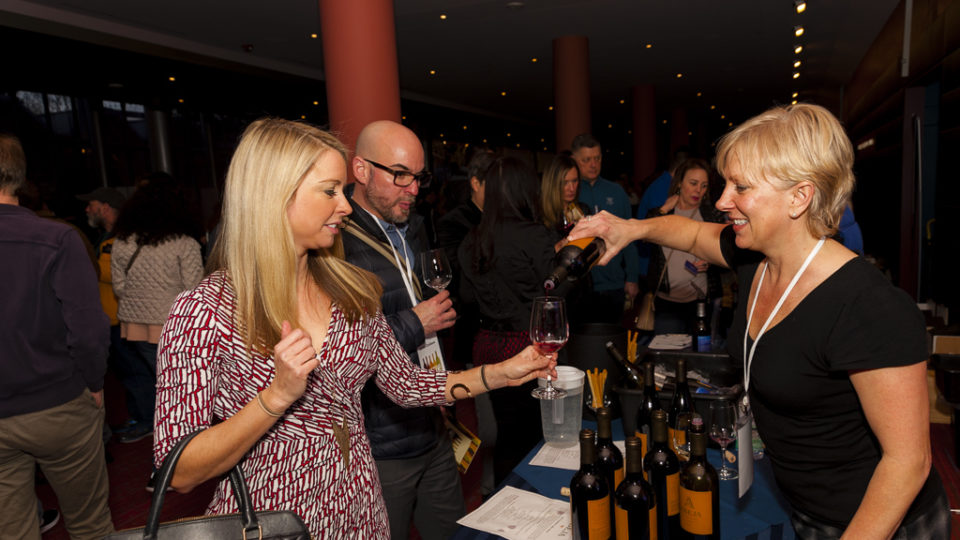 Abeja Winery Pouring at Seattle Tasting Event