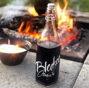 Bledsoe Family Winery Red Blend by the Fire