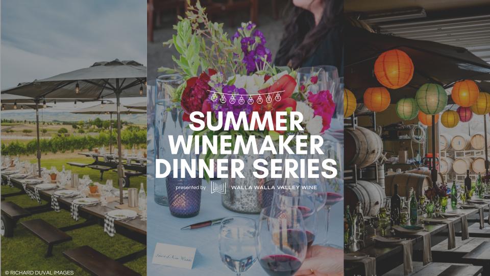 Summer Winemaker Dinner Series