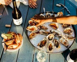 The Walls Vineyard, Oysters and Grenache Blanc, Walla Walla 12