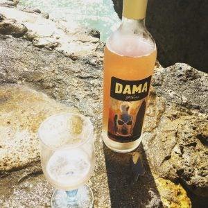 DAMA Wines Rosé at the Beach