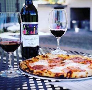 Woodward Canyon Barbera and Pizza